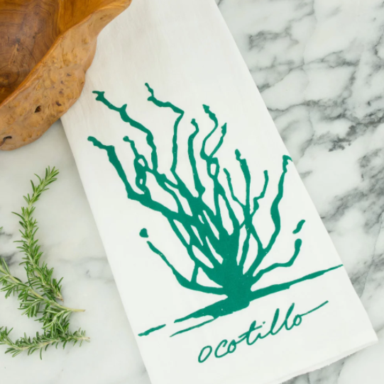 Tea Towel - Ocotillo - Kimball Prints