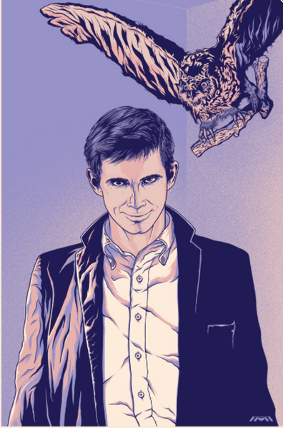 Norman - Icons of Horror - Print