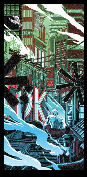 Blade Runner: Tears in the Rain - Print