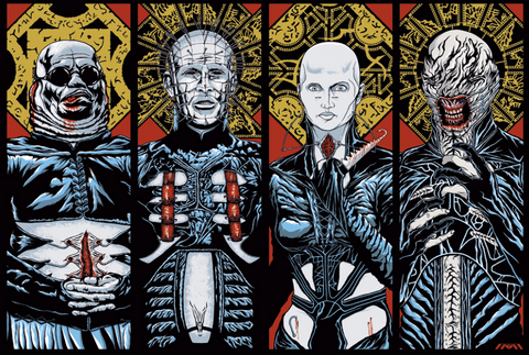 Hellraiser (Hellbound Version) - Print