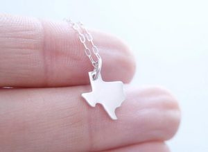 Texas Necklace - Sterling Silver
