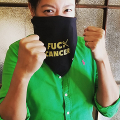 FUCK CANCER bandana