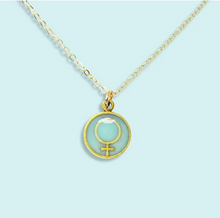 Load image into Gallery viewer, Aqua Female Necklace