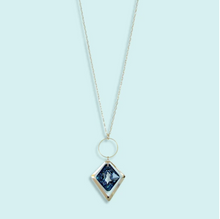 Load image into Gallery viewer, Blue Ice Diamond Necklace