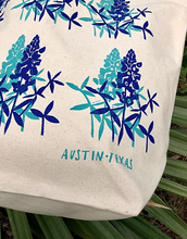 Load image into Gallery viewer, Bluebonnets Tote Bag