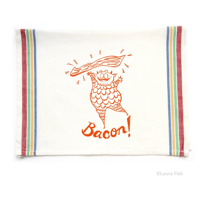 Tea Towel - Bacon - Fisk and Fern