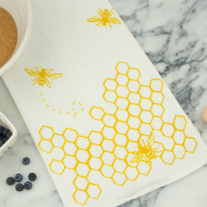 Tea Towel - Bees - Kimball Prints