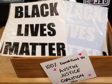 Load image into Gallery viewer, BLACK LIVES MATTER DECAL
