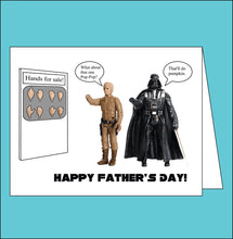 Load image into Gallery viewer, Star Wars- Father's Day Card