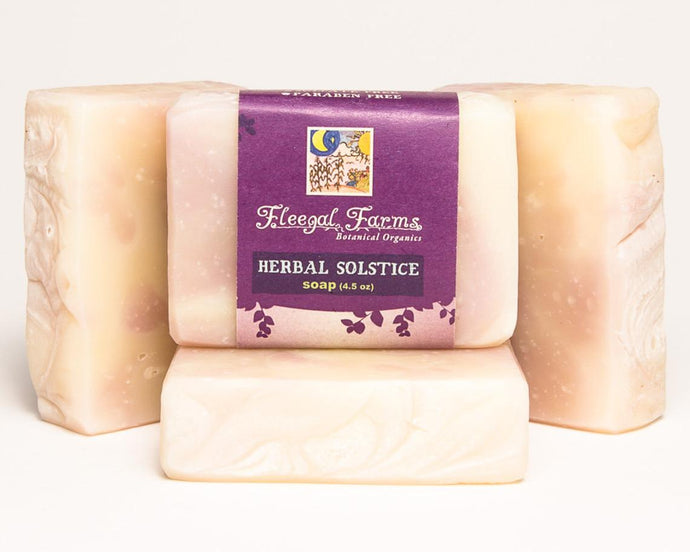 Herbal Solstice Soap
