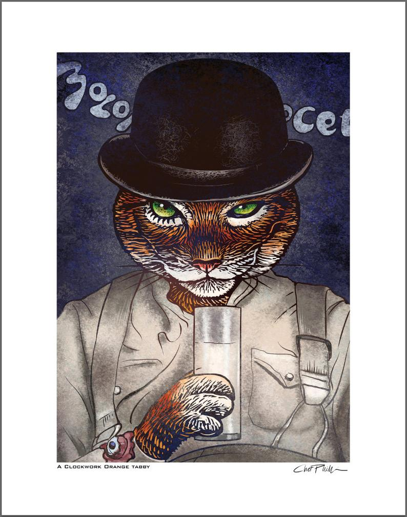 A Clockwork Orange Tabby