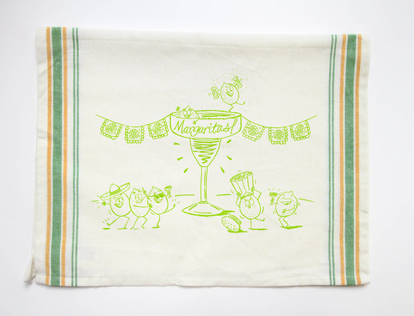 Tea Towel - Margarita - Fisk and Fern