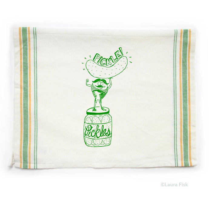 Tea Towel - Pickle - Fisk and Fern