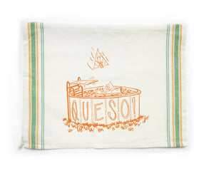 Tea Towel - Queso - Fisk and Fern