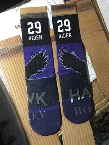 Customized sock- All over print- Custom elite socks