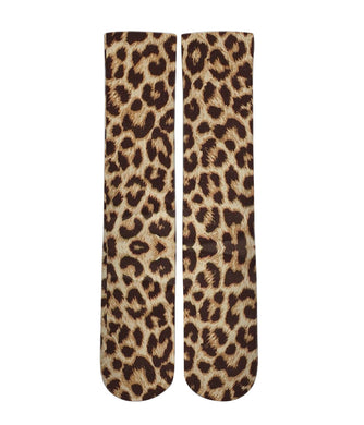 Leopard print socks - men and women