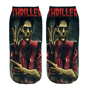 Micheal Jackson Thriller ankle socks - DopeSoxOfficial