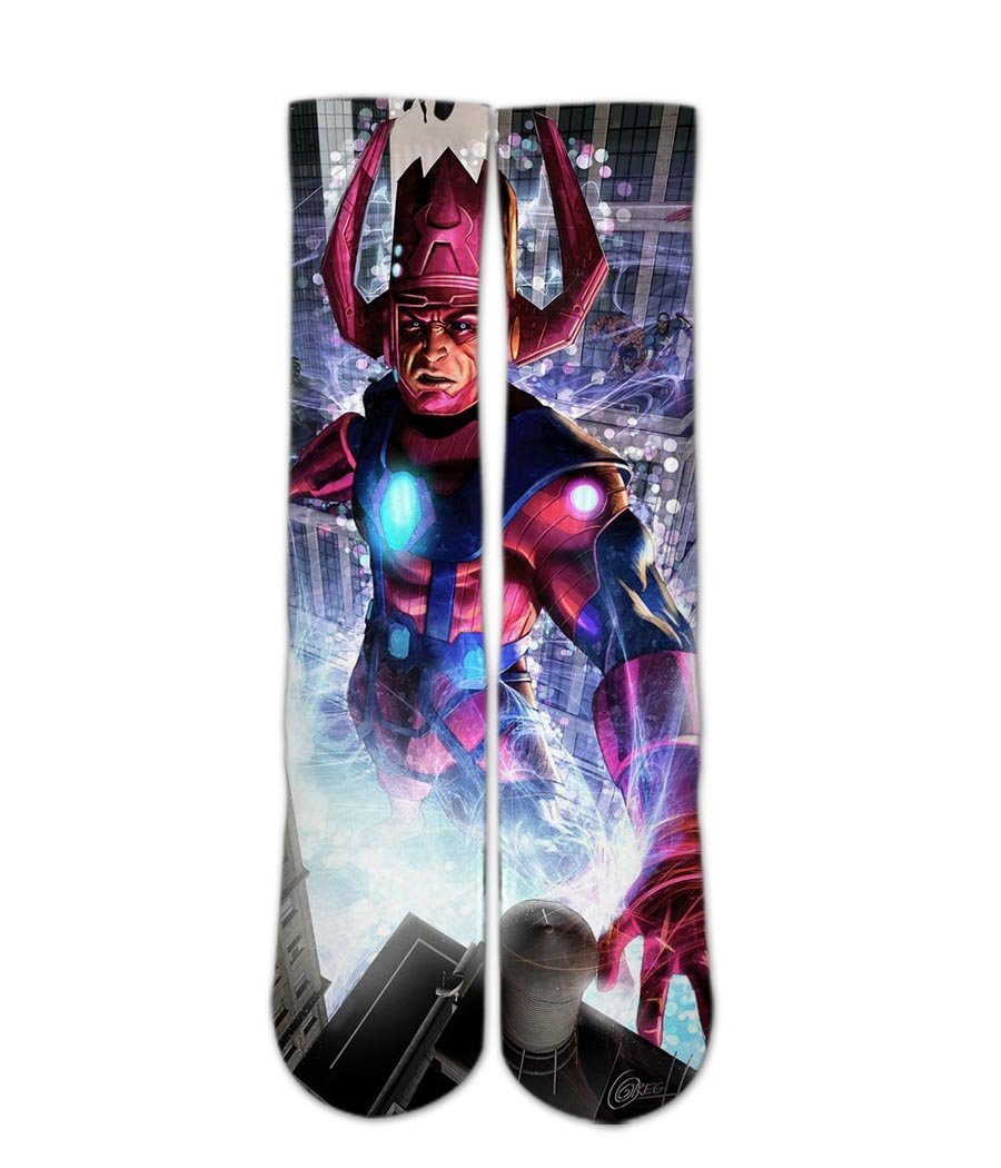 Galactus elite socks - Dope Sox Official-Elite custom socks