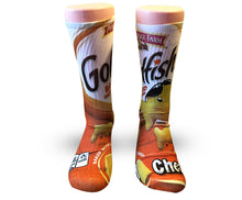 Load image into Gallery viewer, Custom Elite Socks-GoldFish Crackers - DopeSoxOfficial