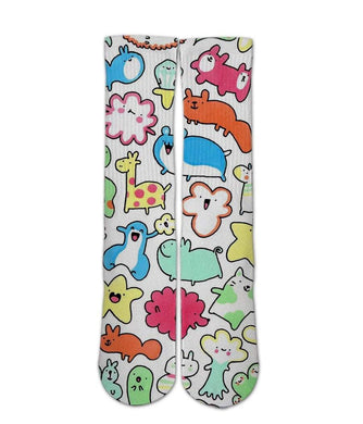 Cartoon Animal pattern sock design - DopeSoxOfficial