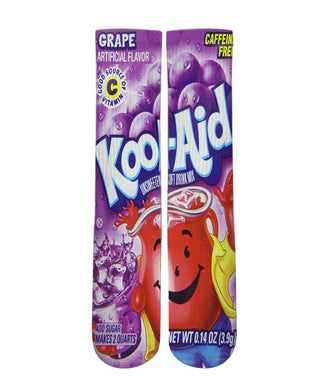 Kool Aid Grape crew socks - Dope Sox Official-Elite custom socks