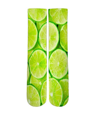 Citrus Lime elite graphic socks - DopeSoxOfficial