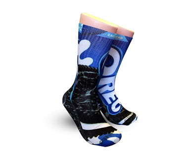 Oreo Cookies Elite sublimated socks - Dope Sox Official-Elite custom socks