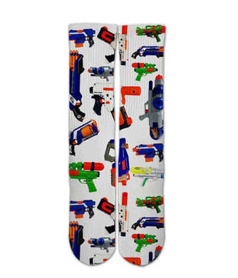 Super soaker gun collection graphic printed socks - DopeSoxOfficial