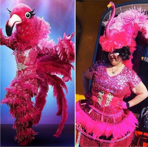 Mardi Gras Did it First, New Orleans, Badass Balloon Co-flamingo