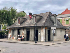 Jean Lafitte Blacksmith Shop New Orleans Badass Balloon Co Haunted History