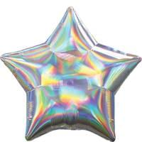 Iridescent  Star Shape