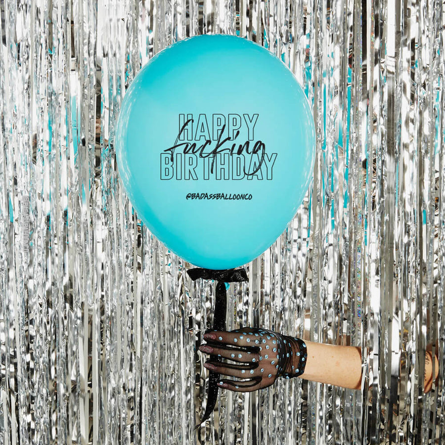 Badass Birthday Balloon 3 & 12 Pack | Funny & Offensive Balloons and Party Favors