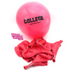 """College"" Congratulations graduation Party Balloons. Badass Balloons."
