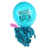 Mature YASS BITCH Party & Birthday Balloons. Natural Latex. 100% Biodegradable. Badass Balloons. Party Supplies. - badassballoonco
