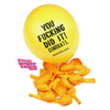 Congratulations Balloon Pack by Badass Balloon Co. Funny balloons. Offensive Balloons, Abusive Balloons and Party Favors - badassballoonco