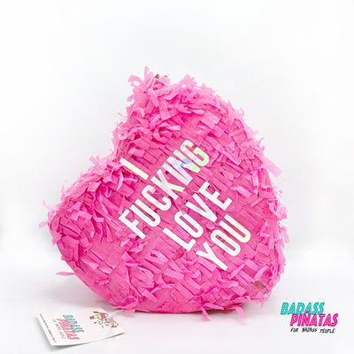 Badass Party Pinatas: Heart Shape