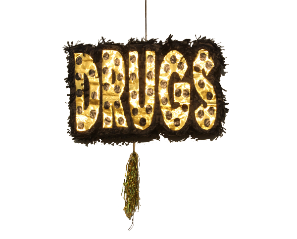 Badass Party Pinatas: DRUGS - badassballoonco