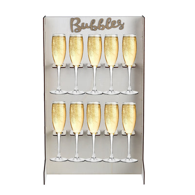 Pre-Order: Freestanding Tabletop Champagne Wall, Bubbles Wall, Prosecco Wall reusable wedding decoration or party accessory