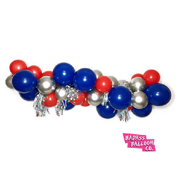 Red White and Blue Badass Balloon Co Installation Kit