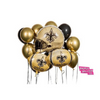 New Orleans Saints  Balloons. Football Shaped Balloon - Tailgate-badassballoonco