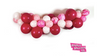 Badass Balloon Co-Pink and Red Balloons-DIY Installation Kit-Valentine's Day Balloons