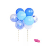 Blue Cake Topper Mini Balloon Garland