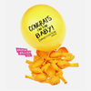 "Mature ""Congrats on the Baby! Sympathies to your Vagina"" Baby Shower Balloons. Badass Balloons. Adult Party Supplies and Party Supplies. - badassballoonco"