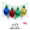 Holographic String Lightbulb Balloons (Set of 4) - badassballoonco