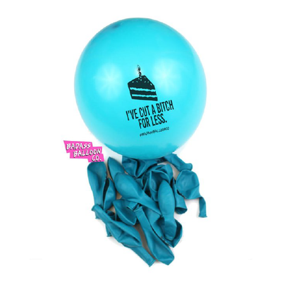 Iconic Birthday Balloon Pack by Badass Balloon Co. Funny balloons. Offensive Balloons, Abusive Balloons and Party Balloons - badassballoonco