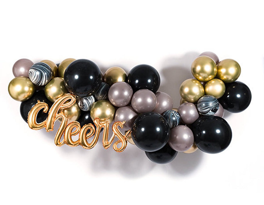 Art Deco Badass Balloon Garland DIY Kit