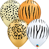 Neutral Jungle theme Printed balloons