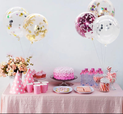 Balloon stands for table top helium free decor