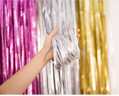 NEW! Matte foil curtains for backdrops
