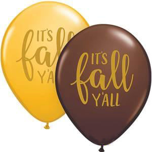It's Fall Y'all Badass Balloons